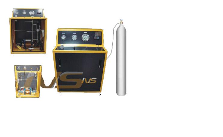 气瓶充装系统设备图