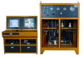 散热器气密封性能试验机设备图片