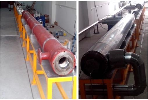 中国科学院武汉岩士力学研究院深井封隔器及取样监测测试平台系统项目现场图片