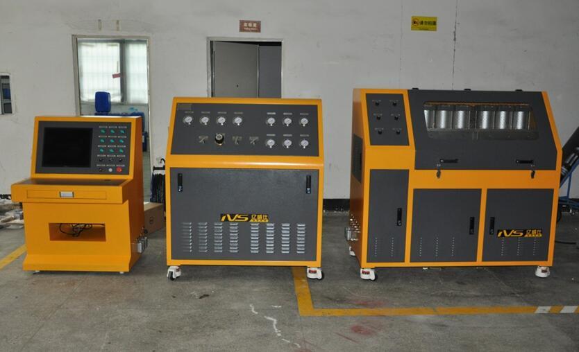 BSC蓄能器壳体焊缝强度耐压试验台-比亚迪