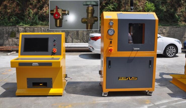 LPG液化气瓶阀耐用性(寿命)试验机