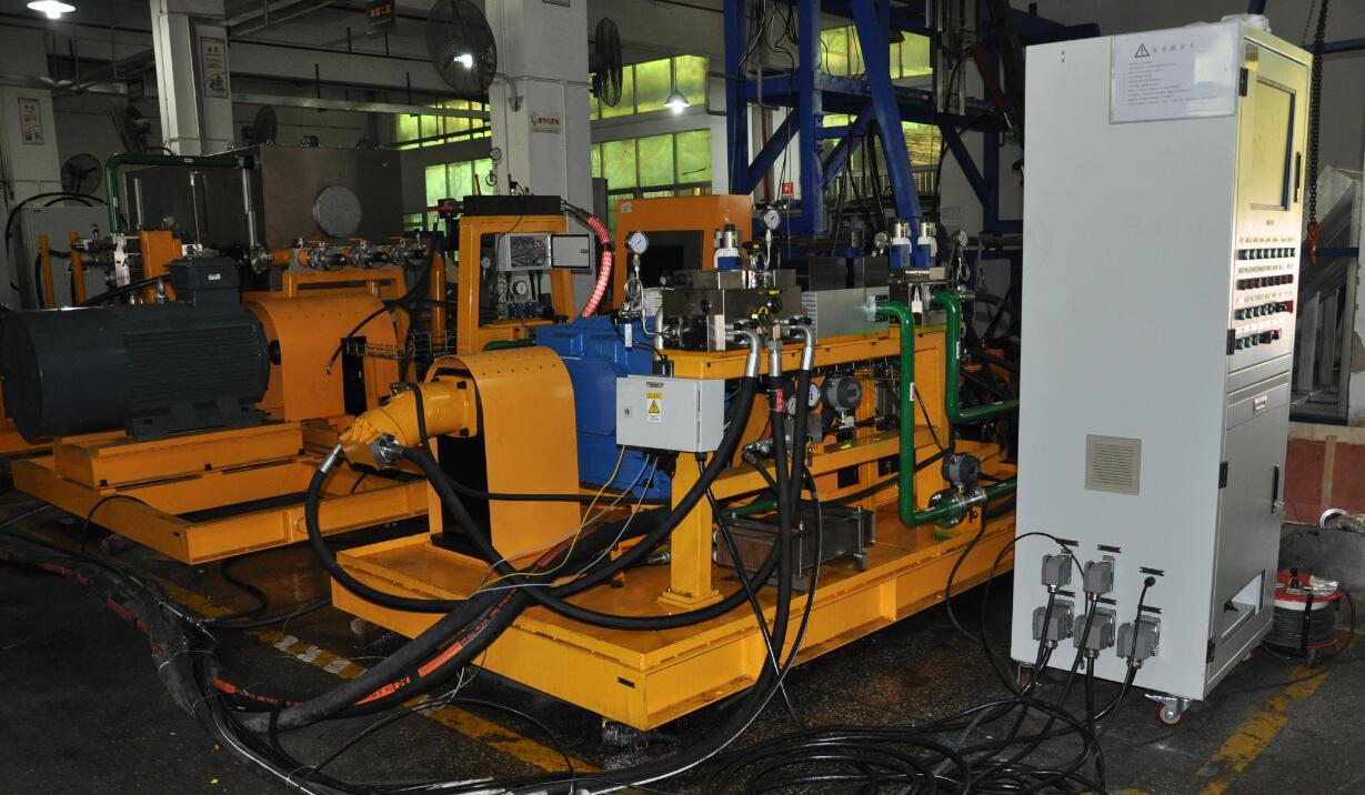 液压泵马达(出厂/维修)性能检测试验台设备图