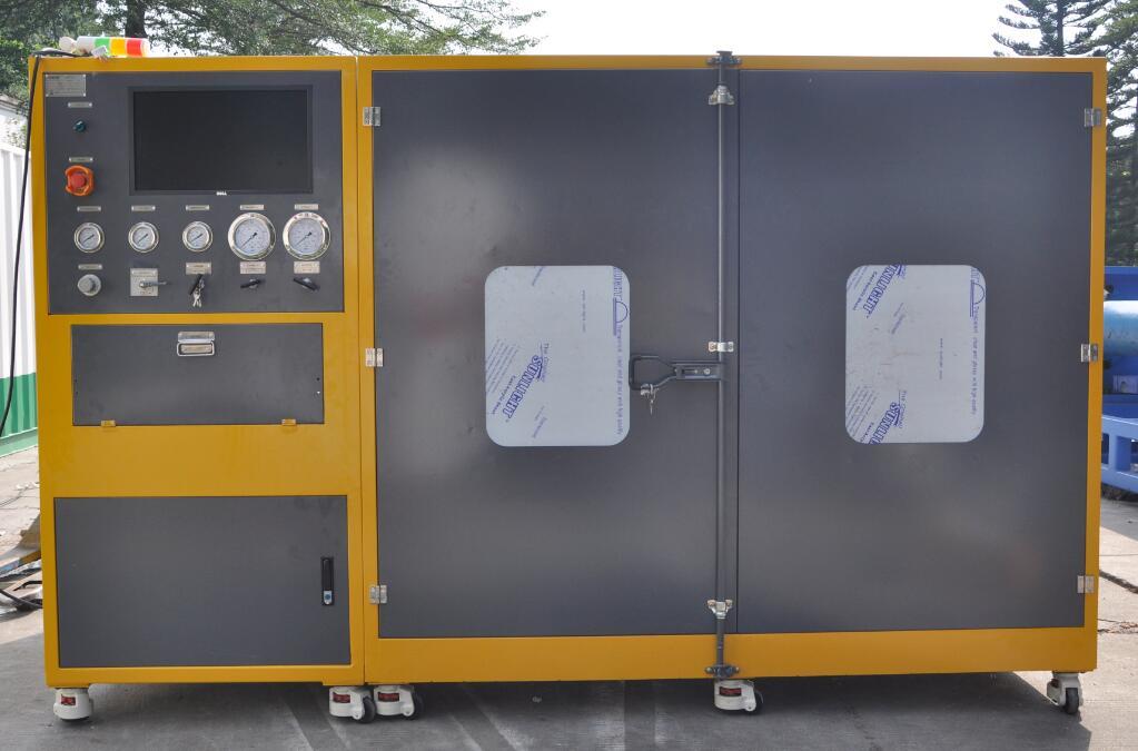 水冷板(散热器)耐压爆破试验机